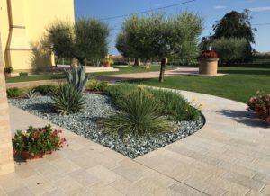 giardino a camponogara in stile mediterraneo semplice (2)
